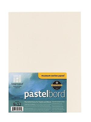 Ampersand Pastelbord 9 In. X 12 In. White Each (PBW09)