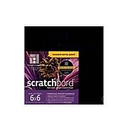 "Ampersand Museum Series Scratchbord Board, 6"" X 6"", 3/Pk (CBB066)"