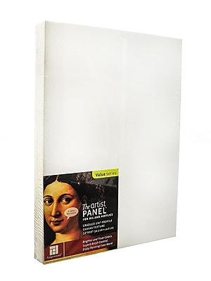Ampersand The Artist Panel Canvas Texture Cradled Profile 12 In. X 16 In. 1 1/2 In. (APC1.5 1216)