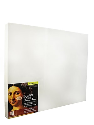 Ampersand The Artist Panel Canvas Texture Cradled Profile 16 In. X 20 In. 1 1/2 In. (APC1.5 1620)
