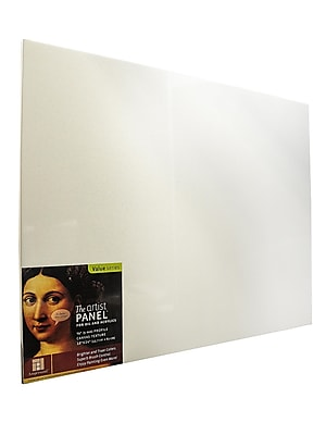 Ampersand The Artist Panel Canvas Texture Flat Profile 18 In. X 24 In. 3/8 In. (AP9M1824)