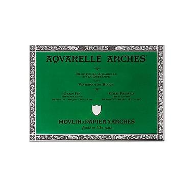 Arches Aquarelle Watercolor Block 140 Lb. Cold Press 14 In. X 20 In. (200177172)