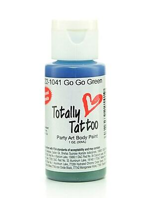 Badger Totally Tattoo System Body Paint Go Go Green 1 Oz. [Pack Of 2] (2PK-TT-1041)