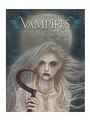 Barron'S How To Draw And Paint Series Vampires (9780764145766)