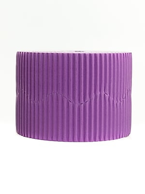 Bemiss Jason Bordette Corrugated Roll Violet [Pack Of 4] (4PK-37334)