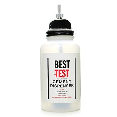 Best-Test Rubber Cement Dispensers 16 Oz. Plastic Dispenser (501P)