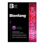 Bienfang Aquademic Watercolor Pads 11 In. X 15 In. Pad Of 15 [Pack Of 3] (3PK-R285631)