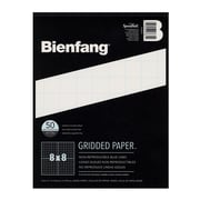 Bienfang Gridded Paper 8 X 8 8 1/2 In. X 11 In. Pad Of 50 [Pack Of 3] (3PK-910591)