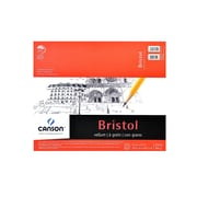 Canson Foundation Bristol Pads, Vellum, 14 In. x 17 In. (100511019)
