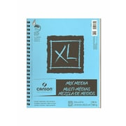 Canson XL Mix Media Pads, 9 In. x 12 In., Pad Of 60 Sheets, WireBound (100510927)