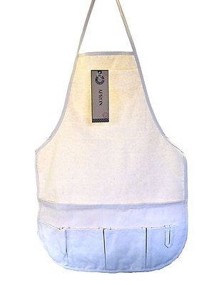 Canvas Corp Natural Canvas Apron With Pockets Adult (CVS3333)