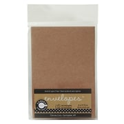 Canvas Corp Packaged Cards And Envelopes Envelopes Kraft 2 1/2 In. X 3 1/2 In. Pack Of 12 [Pack Of 4] (4PK-ENV1898)