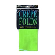 Cindus Crepe Paper Folds Light Green [Pack Of 6] (6PK-1180)
