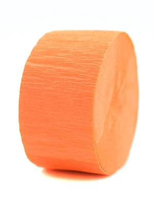Cindus Crepe Paper Streamers Bright Orange [Pack Of 12] (12PK-3643)