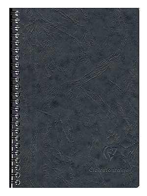 Clairefontaine Basics Notebooks Wirebound With Pockets 6 In. X 8 1/4 In. 60 Pages (785661)