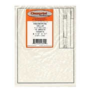 Clearprint Engineering Vellum Drafting Paper, 8 1/2 In. X 11 In., 10/PK (10221210)