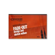 Clearprint Fade-Out Design And Sketch Vellum - Grid Pad 10 X 10 11 In. X 17 In. Pad Of 50 (10003416)