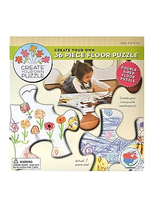 Cobble Hill Create Your Own Puzzle 24 In. X 36 In. 36 Pieces (55101)
