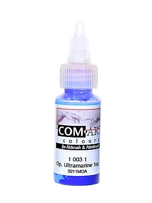 Com-Art Opaque Airbrush Color Ultramarine [Pack Of 4] (4PK-1-003-1)