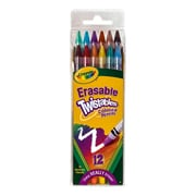 Crayola Erasable Twistables Colored Pencils Pack Of 12 [Pack Of 4] (4PK-68-7508)
