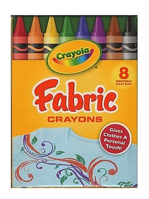 Crayola Fabric Crayons Box Of 8 [Pack Of 8] (8PK-52-5009)