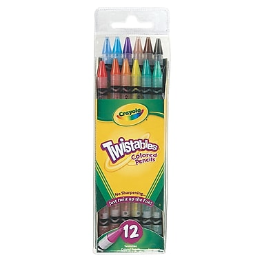 Crayola Twistables Colored Pencils Set Of 12 [Pack Of 4] (4PK-68-7408)