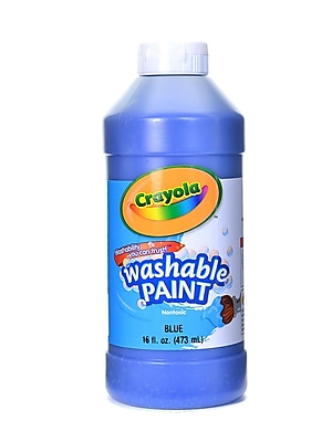 Crayola Washable Paint Blue [Pack Of 4] (4PK-54-2016-042)
