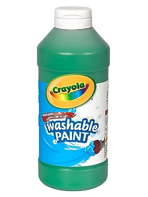 Crayola Washable Paint Green [Pack Of 4] (4PK-54-2016-044)