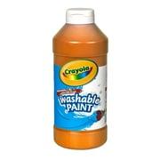 Crayola Washable Paint Orange [Pack Of 4] (4PK-54-2016-036)