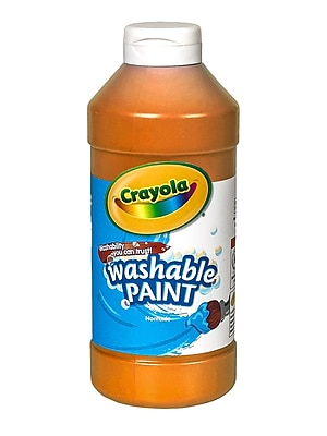 Crayola Washable Paint Orange [Pack Of 4] (4PK-54-2016-036)