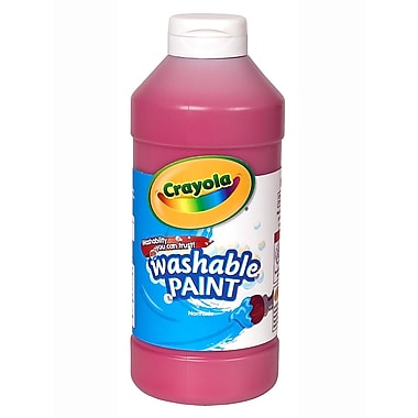 Crayola Washable Paint Red [Pack Of 4] (4PK-54-2016-038)