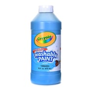 Crayola Washable Paint Turquoise Blue [Pack Of 4] (4PK-54-2016-048)