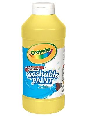 Crayola Washable Paint Yellow [Pack Of 4] (4PK-54-2016-034)