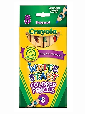 Crayola Write Start Colored Pencils Box Of 8 [Pack Of 6] (6PK-6841081008)