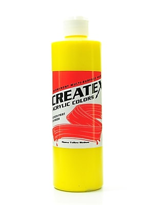 Createx Acrylic Colors Hansa Yellow Medium 16 Oz. [Pack Of 2] (2PK-2002-16) 2133647