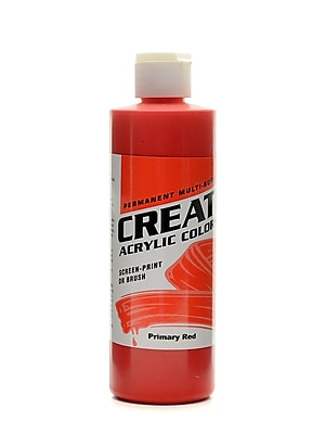 Createx Acrylic Colors Primary Red 8 Oz. [Pack Of 3] (3PK-2006-08) 2133752