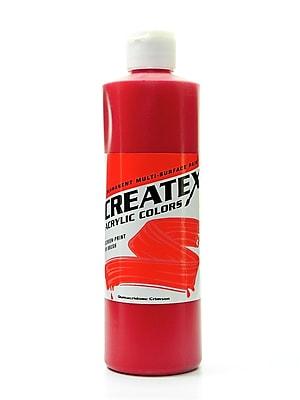 Createx Acrylic Colors Quinacridone Crimson 16 Oz. [Pack Of 2] (2PK-2007-16)