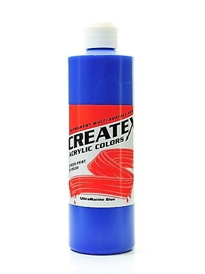 Createx Acrylic Colors Ultramarine Blue 16 Oz. [Pack Of 2] (2PK-2008-16) 2135711