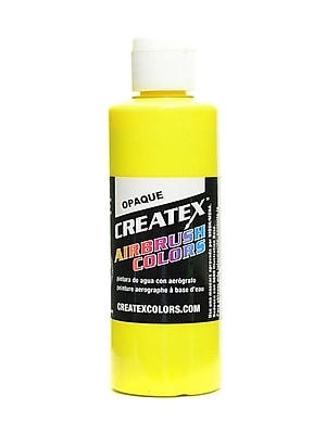 Createx Airbrush Colors Opaque Yellow 4 Oz. [Pack Of 3] (3PK-5204-04)