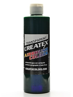 Createx Airbrush Colors Transparent Brite Green 16 Oz. (5109-16)