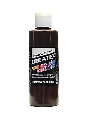 Createx Airbrush Colors Transparent Dark Brown 4 Oz. [Pack Of 3] (3PK-5128-04)
