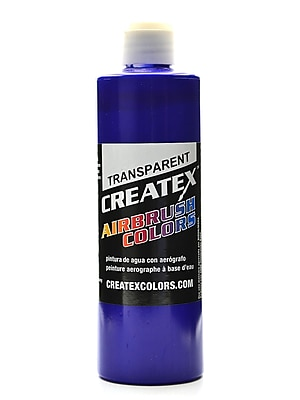 Createx Airbrush Colors Transparent Ultramarine Blue 16 Oz. (5107-16)
