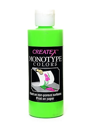 Createx Monotype Colors Leaf Green 4 Oz. [Pack Of 3] (3PK-3016-04)