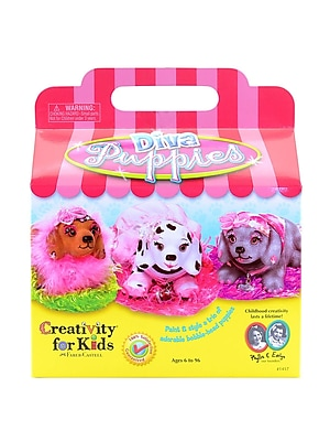 Creativity For Kids Diva Puppies Each (1417)