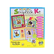 Creativity For Kids It'S My Life Scrapbook Kit Scrapbook Kit (1011)