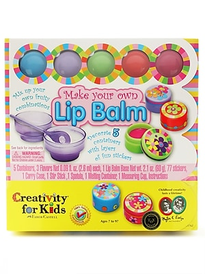 Creativity For Kids Make Your Own Lip Balm Each (1762)