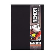 Crescent Rendr No Show Thru Drawing Pad 9 In. X 12 In. Tapebound Pad Of 24 Sheets [Pack Of 2] (2PK-12-00012)