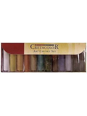 Cretacolor Art Chunky Charcoal Set Set Of 12 (15-49-799) 2138209
