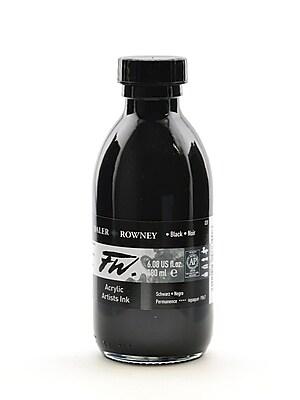 Daler-Rowney Fw Artists' Ink, Black, 6 Oz. (160180028)