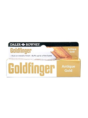 Daler-Rowney Goldfinger Decorative Metallic Paste, Antique Gold, 22 Ml, Pack Of 2 (2PK-145008600)